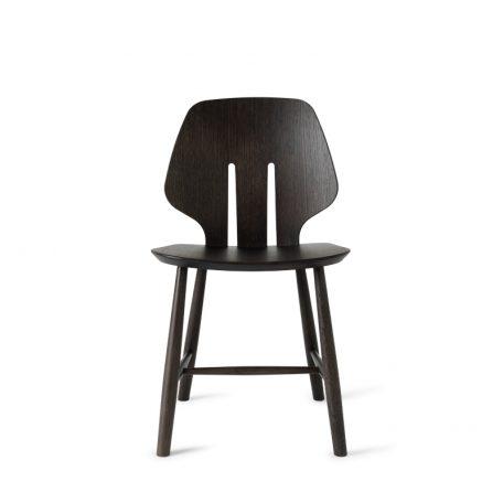 Design Stoelen Eetkamer.Mater Design Eetkamerstoel J67 Zwart Eiken Deense Design Klassiekers