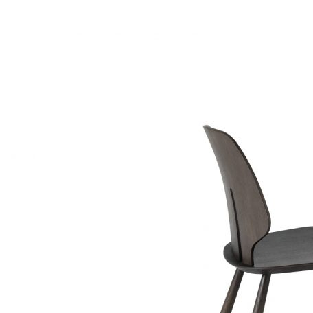 Mater Design eetkamerstoel J67 zwart eiken – Deense Design Klassiekers - GRIJS (3)