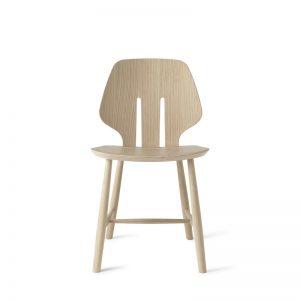 Mater Design eetkamerstoel J67 zwart eiken – Deense Design Klassiekers - NATUREL (1)