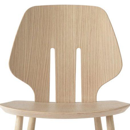 Mater Design eetkamerstoel J67 zwart eiken – Deense Design Klassiekers - NATUREL (2)