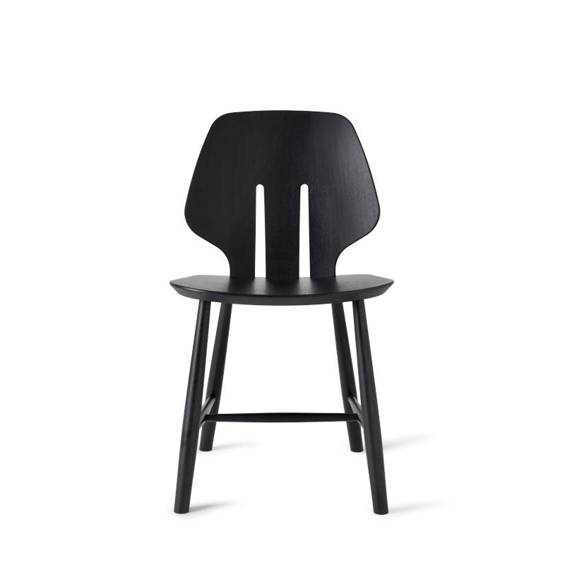 Fonkelnieuw Coolliving.nl | Mater Design eetkamerstoel J67 zwart eiken QH-15