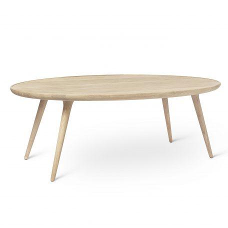 MATER Design ACCENT Dining table, eetkamertafel rond - Eiken mat gelakt (01415)