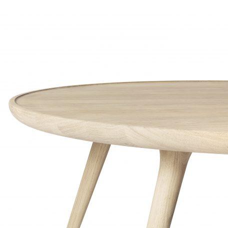 Blank Eiken Ronde Bijzettafel.Mater Design Accent Eiken Salontafel Ovaal Mat Gelakt 120x80x42 Cm