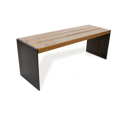 BETONEN LINEA - Bankje eiken_beton_staal