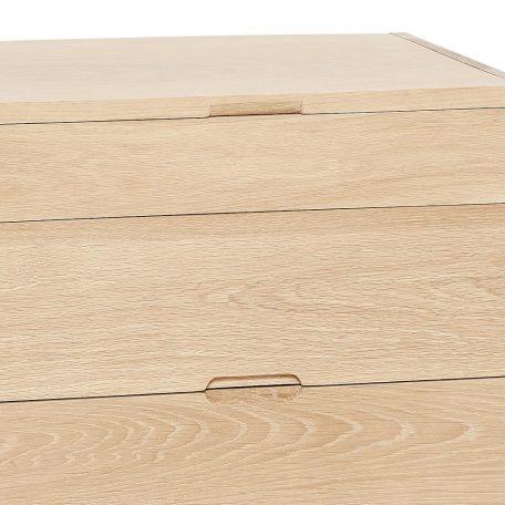 HUBSCH INTERIOR - Kastje, nachtkastje naturel eiken - 880307 (2)