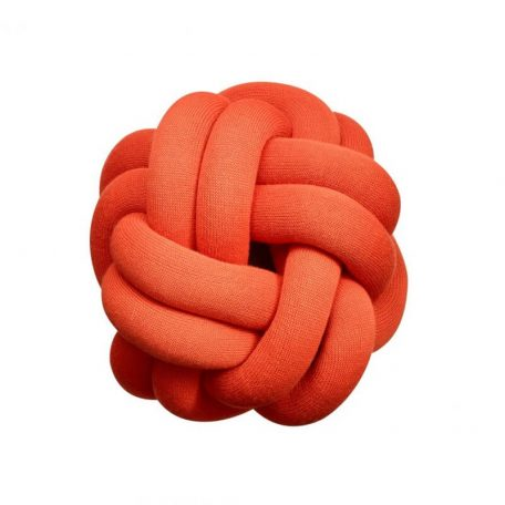 Design House Stockholm KNOT kussen Rood (Tomato Red)