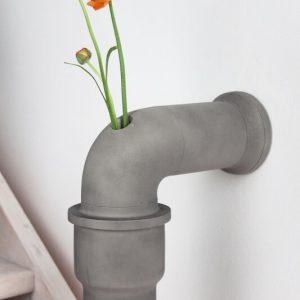 LYON BETON PIPELINE Vaas van beton - Stem Vase