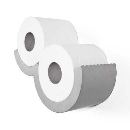 Lyon Beton CLOUD XS toiletrolhouder. De CLOUD toiletrolhouder van beton is een leuk alternatief voor je toiletpapier/smartphone! De van beton gegoten toiletrolhouder CLOUD XS is een leuk alternatief voor het opbergen van toiletrollen. De vorm van een wolk in je toilet is als het ware een kunstwerk aan de muur.
