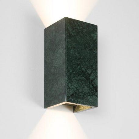 GANTlights B8 wandlamp van Marmer - 24K Goud -  GUATEMALA VERDE