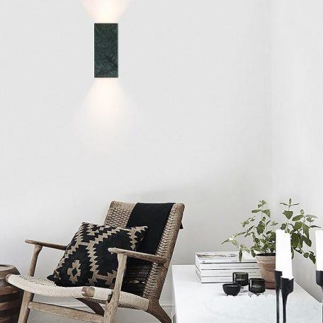 GANTlights B8 wandlamp van Marmer - GUATEMALA VERDE