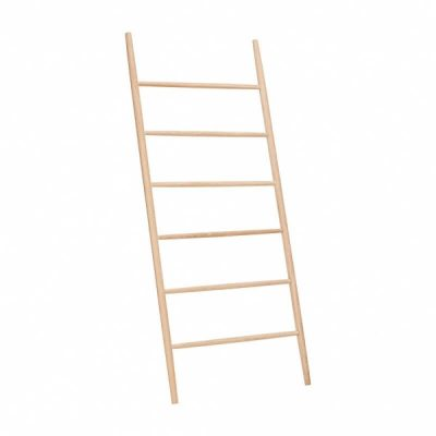HUBSCH Interior Ladder Kledingrek Eiken 880314