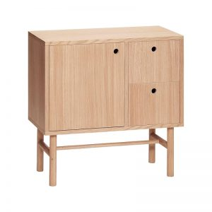 HUBSCH INTERIOR - Dressoir met lades en deur - naturel eiken (880603)