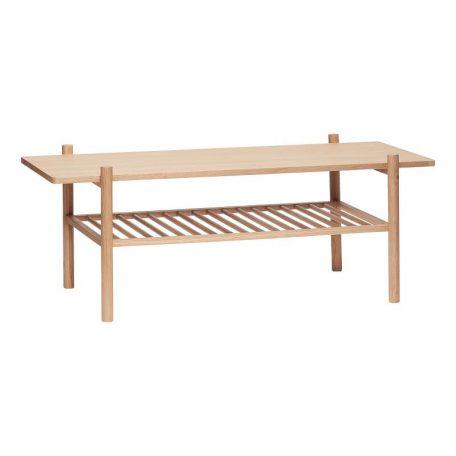 Hubsch Interior - Vintage langwerpige salontafel, eiken 120x57xh46 cm (880623)