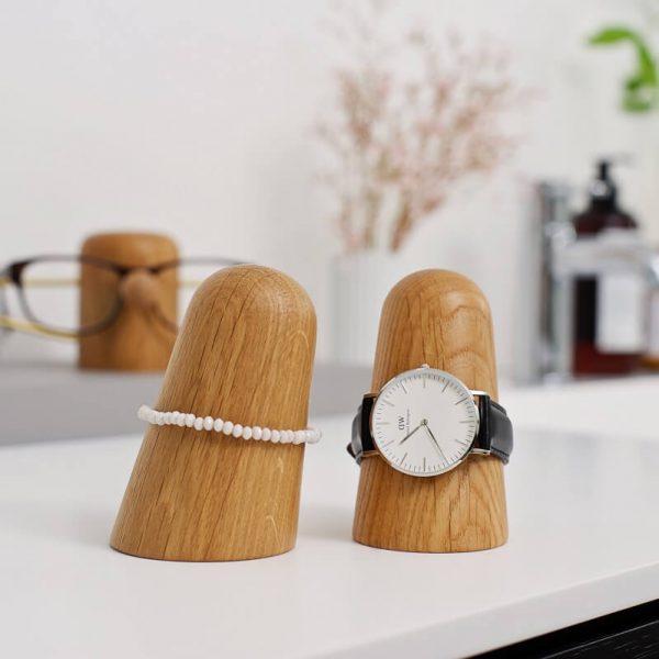 dot AARHUS - TIME-OFF - Armband of horlogehouder - Eiken