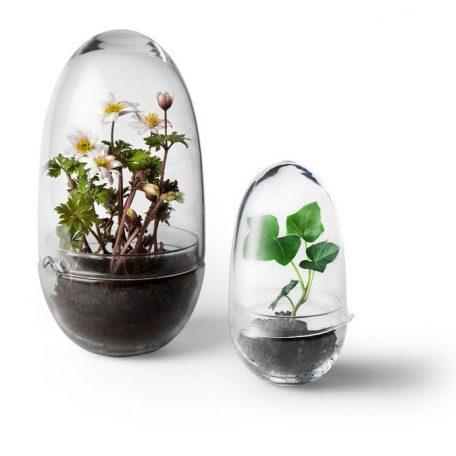 Design House Stockholm - GROW Small en Large plantenkasje, kweekkas, kweekstolp