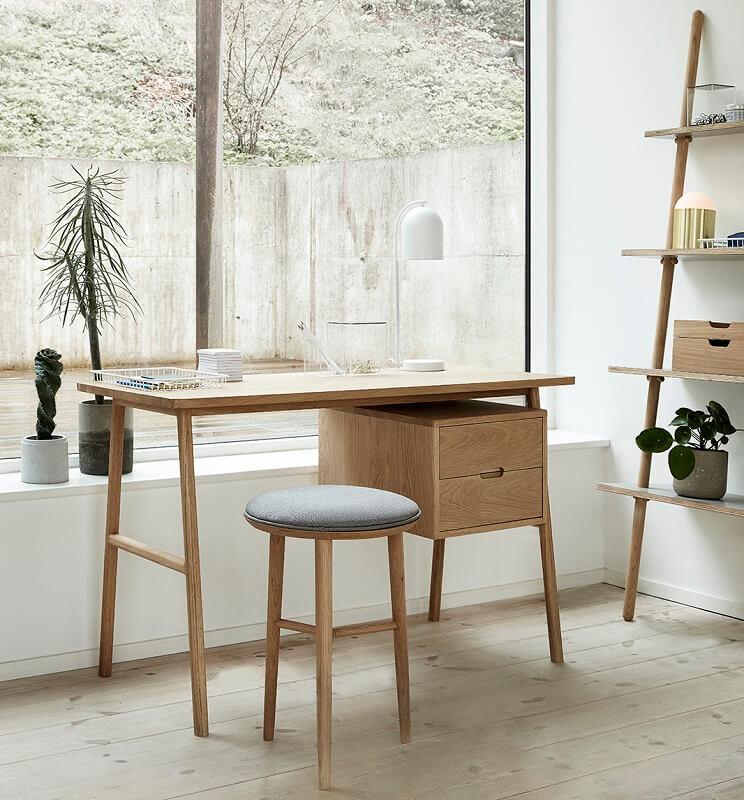 hubsch interior bureau met ladekast 2