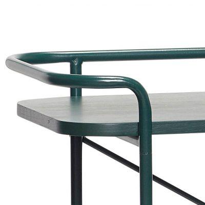 Hubsch Interior - Console van mat groen metaal - 100x37xh91cm - (020603)