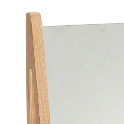 Hubsch Interior - Eiken make-up spiegel - 22x9xh32cm - (880502)