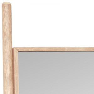 Hubsch Interior - Eiken vloerspiegel met schap - 61xh184cm - (880415)