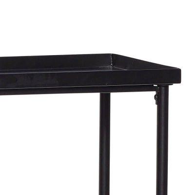 Hubsch Interior - Grote console van zwart metaal - 100x30xh93cm - (020607)