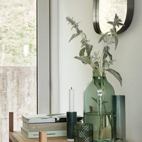 Hubsch Interior Opbergrek, boekenrek van eiken met drie schappen - 880509