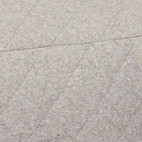 Hubsch Interior - POEF lichtgrijs van wol, vierkant 50x50x35cm (700601)
