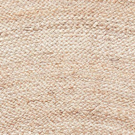 Hubsch Interior - Rond jute vloerkleed, naturel - 150xh1cm - (190601)
