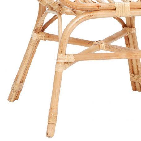 Hubsch Interior - Armstoel, terrasstoel van rotan (310310)