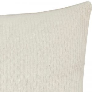 Hubsch Interior - Gebroken wit sierkussen van katoen - 50x50cm - (550105)