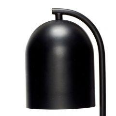 Hubsch Interior - Tafellamp of bureaulamp in mat zwart - 12xh50cm - (890551)