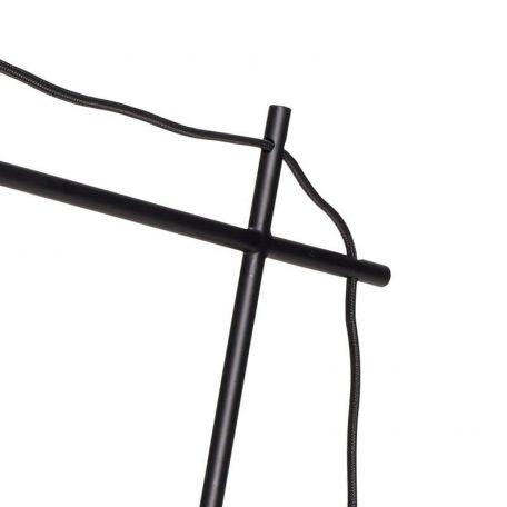 Hubsch Interior - Verstelbare bureaulamp in mat zwart - 40xh41cm - (890603)