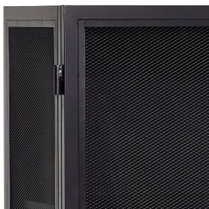 Hubsch Interior - Zwart metalen gaaskast 50x45xh150cm - (020609)