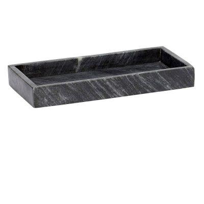 Hubsch Interior - Dienblad van zwart marmer, set - (510227)