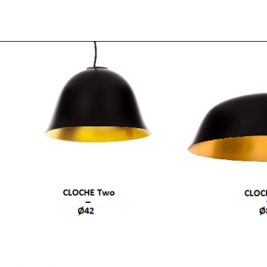 NORR11 - CLOCHE One Two Three_Hanglamp van aluminium en geborsteld messing