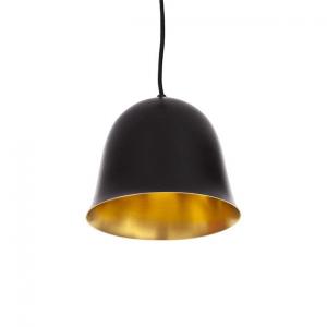 NORR11 - CLOCHE One hanglamp van WIT aluminium en messing -21 x h16cm