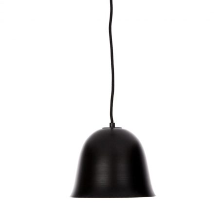 NORR11 - CLOCHE One hanglamp van ZWART aluminium en messing -21 x h16cm (2)