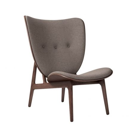 NORR11 - Elephant Chair Donker gebeitst_Wol Fawn