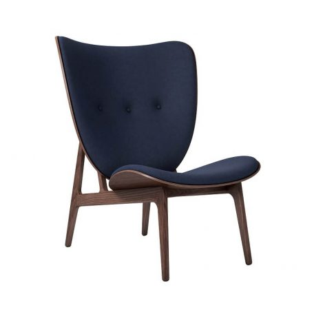 NORR11 - Elephant Chair Donker gebeitst_Wol Navy Blue
