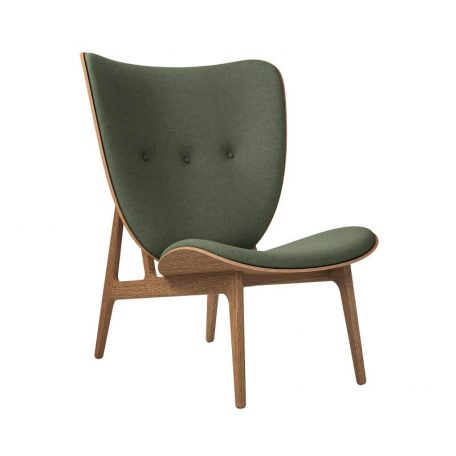 NORR11 - Elephant Chair Gerookt_Wol Forest Green