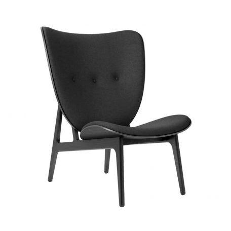 NORR11 - Elephant Chair Zwart_Wol Coal Grey