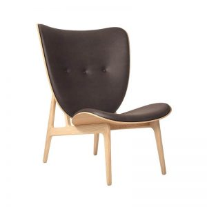 NORR11 Elephant Chair_Naturel_Vintage Leer_Donkerbruin