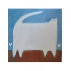SASKIA KEURIS - Witte kat