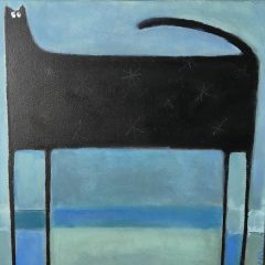 SASKIA KEURIS - Zwarte kat