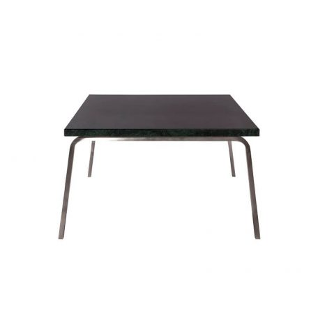 NORR11 - MAN Coffee Table - RVS salontafel met zwart marmeren blad