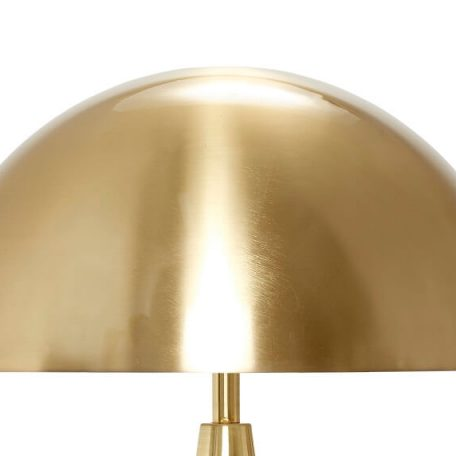 Hubsch Interior - Geborsteld messing tafellamp (990714)