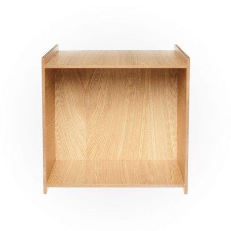 MUNK Collective - GROW BOX -  Modulair kastsysteem, bijzettafel, kruk, plantenbak - Naturel