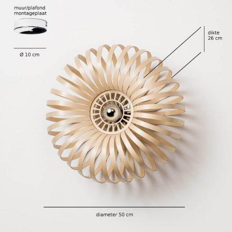 Lion Design - META WALL - Wandlamp Afmetingen