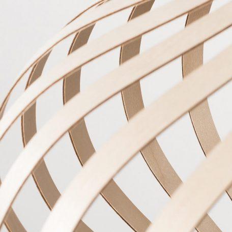Lion Design - META WALL - Wandlamp Berkenhout - Naturel 50x25cm