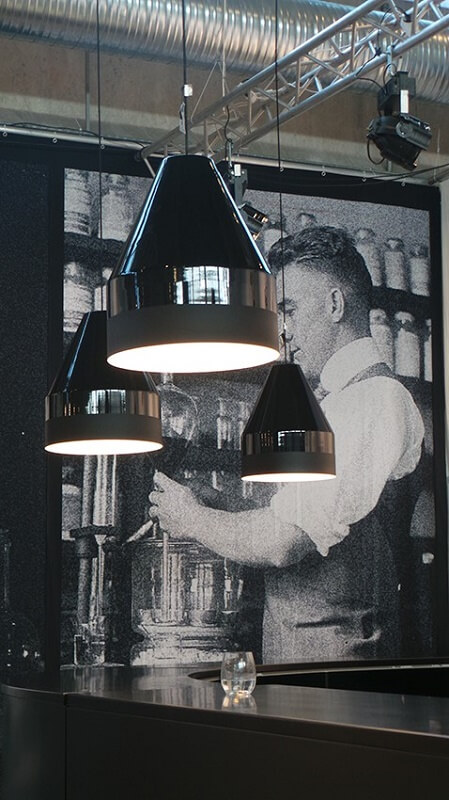 DYBERG LARSEN - CRAYON Hanglamp ZWART-MATZWART 30x30cm (6206)_6