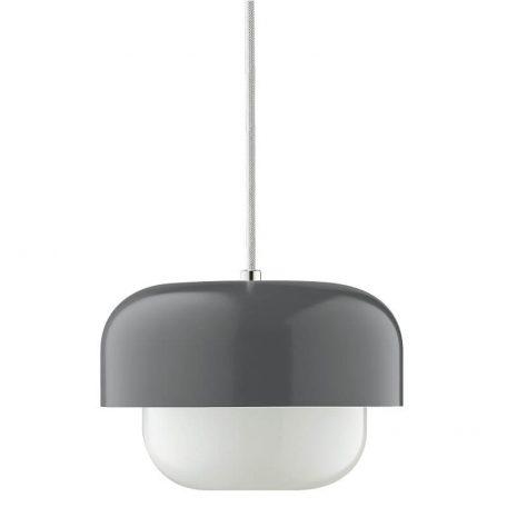 DYBERG LARSEN - HAIPOT Hanglamp Donkergrijs - Back Burn Smoke Dark Grey (8050)